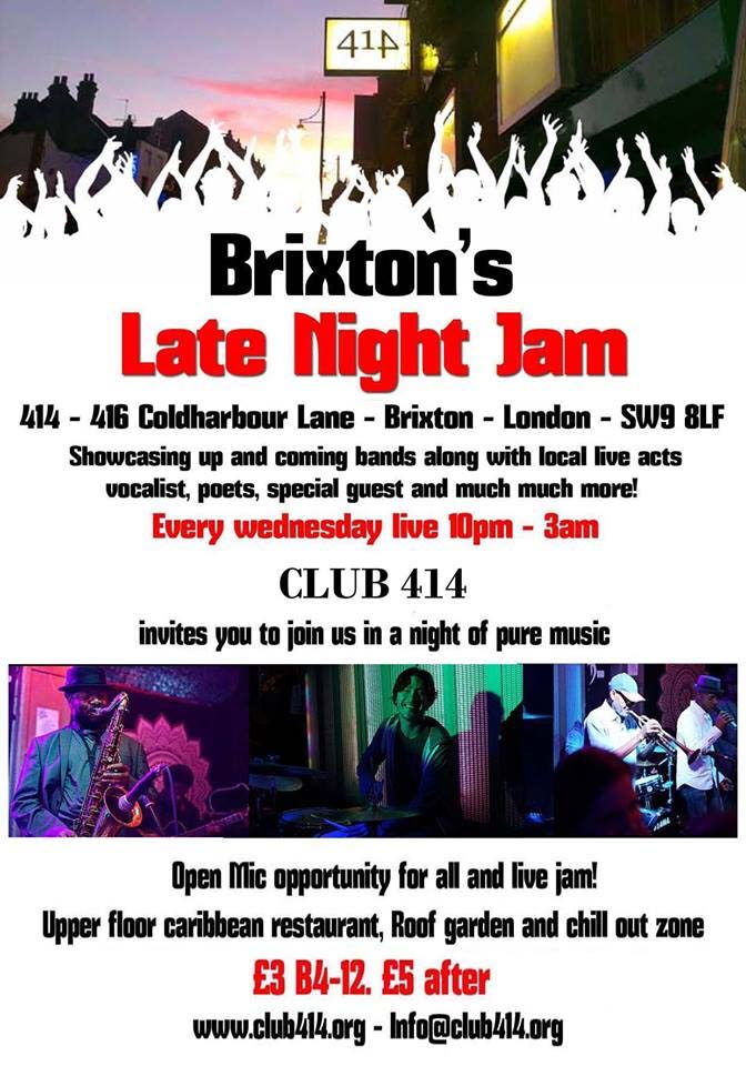 Brixton's Late Night Jam