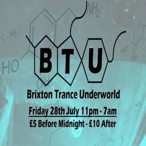 Brixton Trance Underworld @ Club 414 Brixton - Flyer
