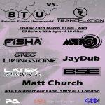 Brixton Trance Underworld vs Trancelation at Club 414, Brixton, London, SW9 8LF