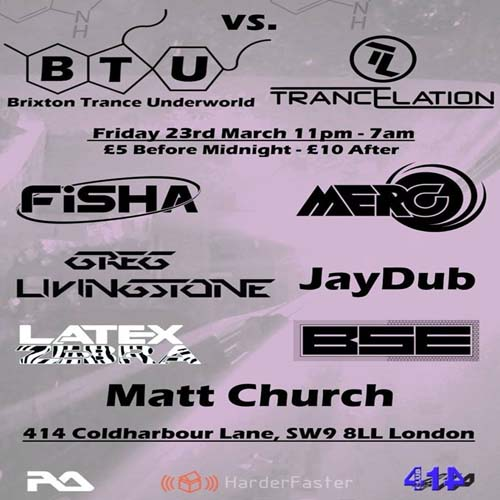 Brixton Trance Underworld vs Trancelation