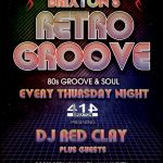 Brixton's Retro Groove at Club 414, Brixton, London, SW9 8LF