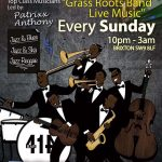 Grass Roots Live Music Bank Holiday Special at Club 414, Brixton, London, SW9 8LF
