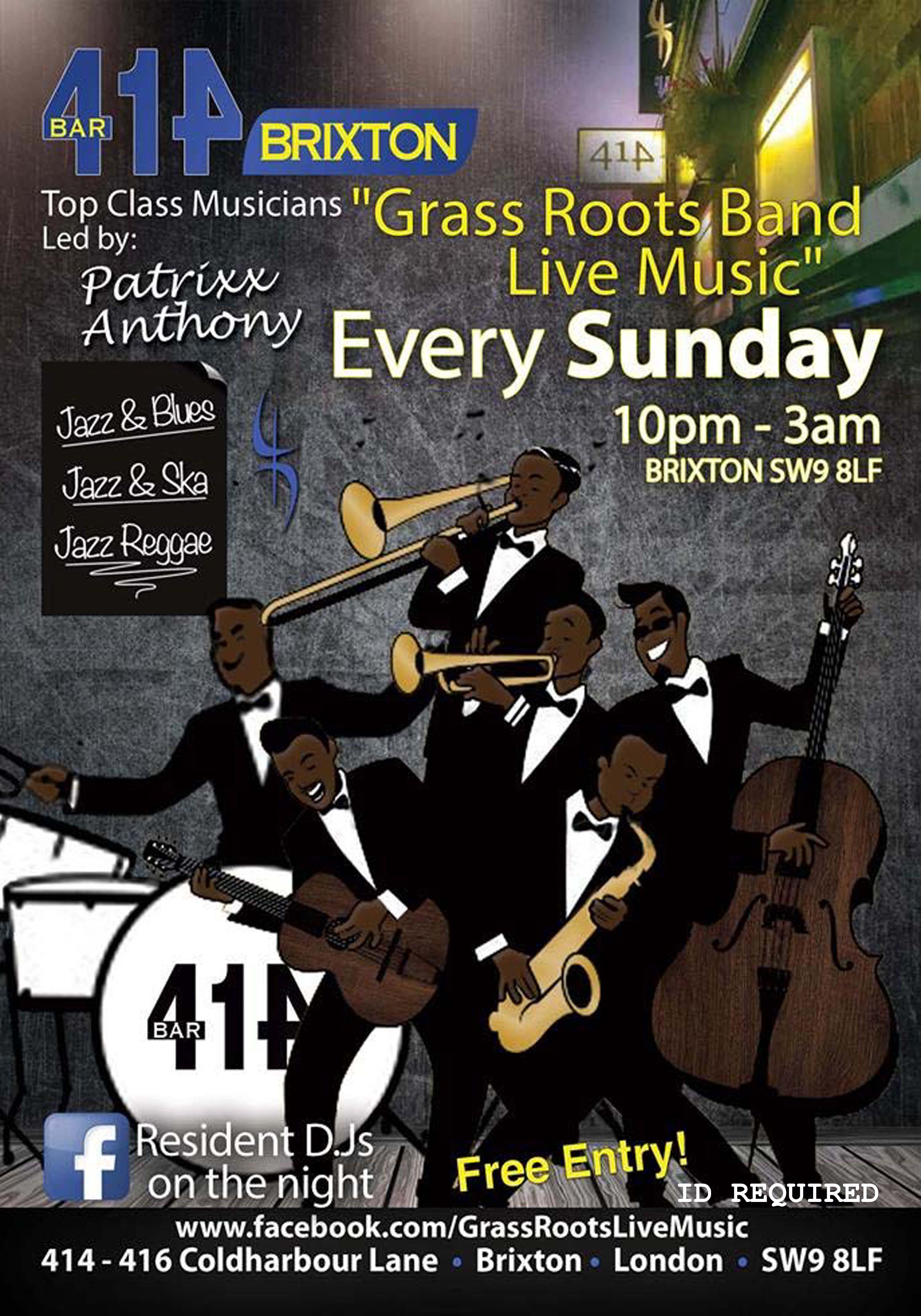 Grass Roots Live Music Bank Holiday Special
