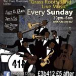 Grass Roots Easter Bank Holiday Special at Club 414, Brixton, London, SW9 8LF