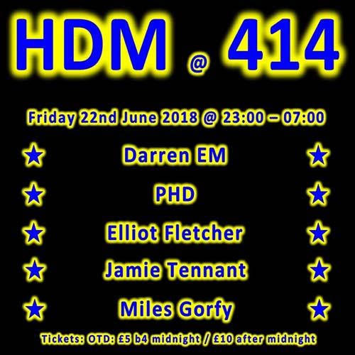 HDM at Club414