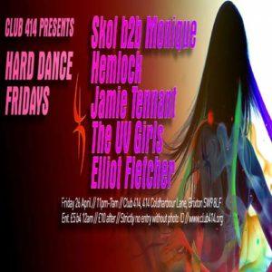 Club 414 Presents (HARD HOUSE FRIDAYS) @ Club 414 Brixton - Flyer