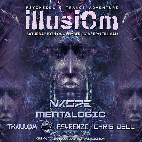 Illusiom PsyTrance Adventure