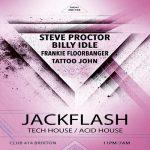 JACKFLASH at Club 414, Brixton, London, SW9 8LF