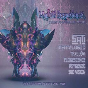 Magical Exxperience @ Club 414 Brixton - Flyer