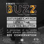 BUZZ at Club 414, Brixton, London, SW9 8LF