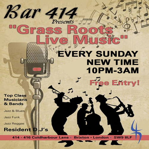 Grass Roots Live Music