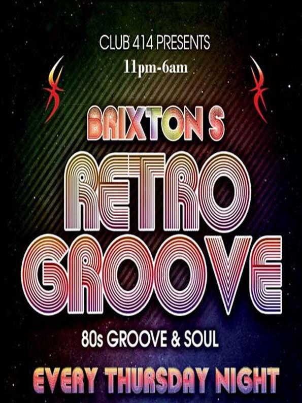 b2d328f4d4f Club 414 Brixton's Retro Groove - Club 414