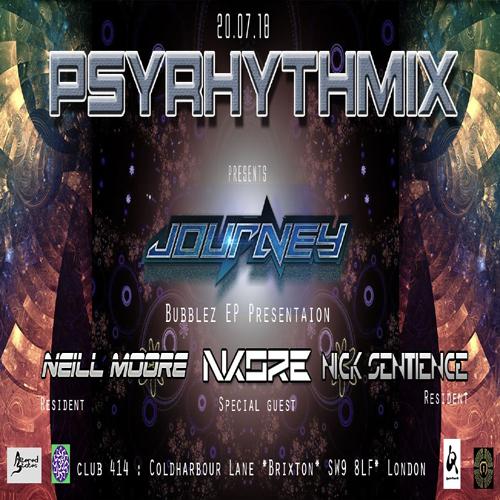 Psyrhythmix Pres. Journey (aka Jay Om) Bubblez EP Presentation