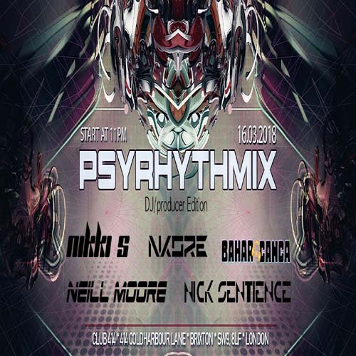 Psyrhythmix: DJ/producer Edition