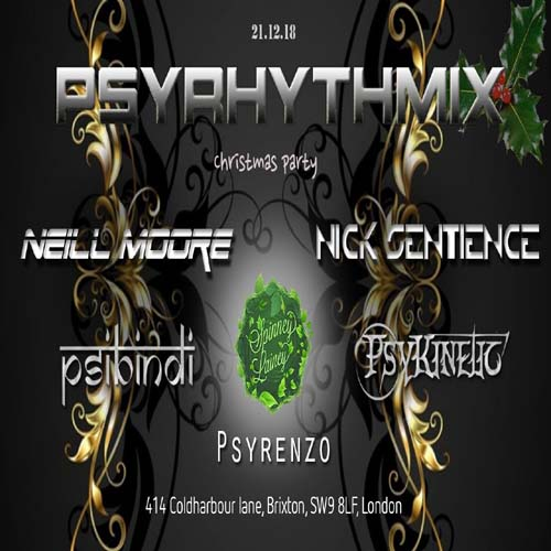 Psyrhythmix Christmas Party