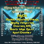 Ravey Dayz Presents: May The 4th Was So Yesterday! at Club 414, Brixton, London, SW9 8LF