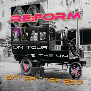 Re:Form - 'On Tour at 414' @ Club 414 Brixton - Flyer