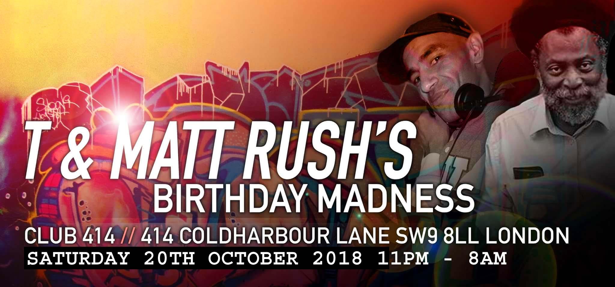 T & Matt Rush Birthday Bash
