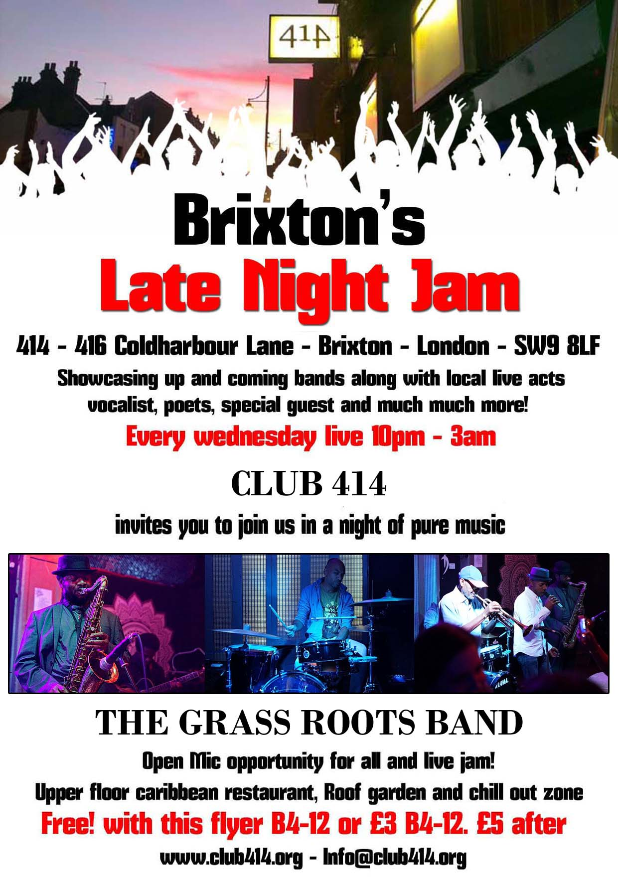 THE BRIXTON LATE NIGHT JAM
