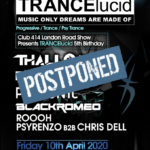 TRANCElucid 5th Birthday Celebration (POSTPONED)