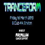 Tranceform at Club 414, Brixton, London, SW9 8LF