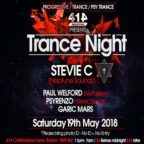 Club 414 Presents (Trance Night)