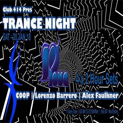 Club 414 Trance Night
