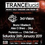 TRANCElucid at Club 414, Brixton, London, SW9 8LF