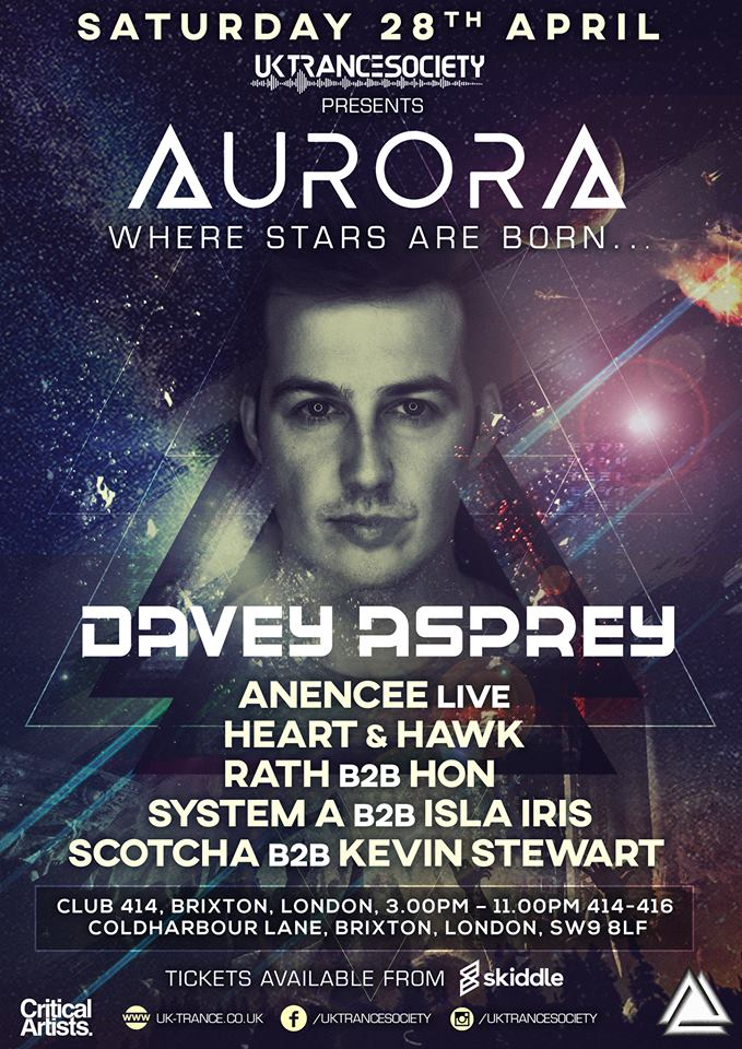 UK Trance Society Presents-AURORA