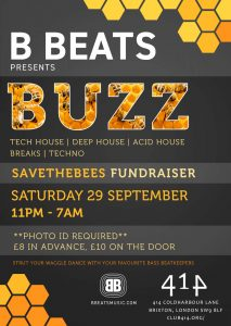 BUZZ @ Club 414 Brixton - Flyer