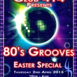Club 414 presents *80's Grooves Easter Special* at Club 414, Brixton, London, SW9 8LF