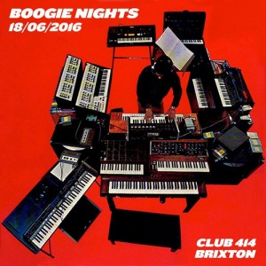 Boogie nights @ Club 414 Brixton - Flyer