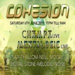 COHESION'S JUNE ADVENTURE at Club 414, Brixton, London, SW9 8LF