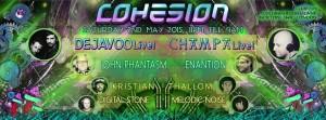 Cohesion  Psychedelic Wonderland Adventure @ Club 414 Brixton - Flyer