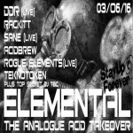 ELEMENTAL The Analogue Acid Takeover at Club 414, Brixton, London, SW9 8LF