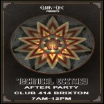 Elixir of Life presents: Technical Ecstasy After Party at Club 414, Brixton, London, SW9 8LF