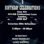 Trance Gathering and Gem (Oi Oi's) Birthday Celebrations