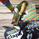 More claps' 1st birthday!