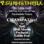 Club 414 Presents *PSYRHYTHMIX* at Club 414, Brixton, London, SW9 8LF
