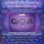 PSYRHYTHMIX Psychedelic Trance Adventure *Prozak's CD Launch* at Club 414, Brixton, London, SW9 8LF