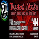 Twisted Mick Charity Party at Club 414, Brixton, London, SW9 8LF