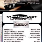 Vinyl Impact at Club 414, Brixton, London, SW9 8LF